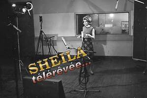 Avril 1963 : Sheila en studio