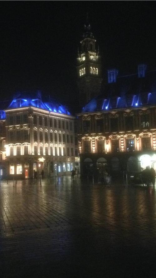 Lille - Beffroi de la Chambre de Commerce (février 2020)