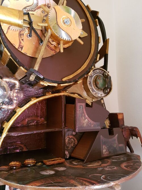Meuble steampunk