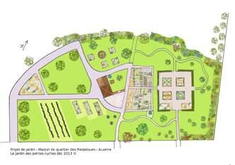 Projet jardin Piedalloues