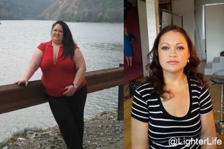 Elle perd 115 kilos… en un an après avoir arrêté les pizzas, les frites et les pâtes