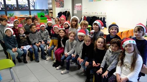 Samedi de Noël à l'école !