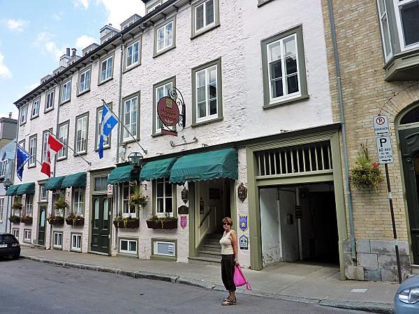 Québec hôtel Acadia
