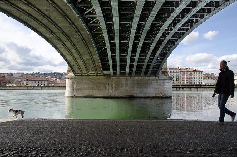 Sous les ponts....