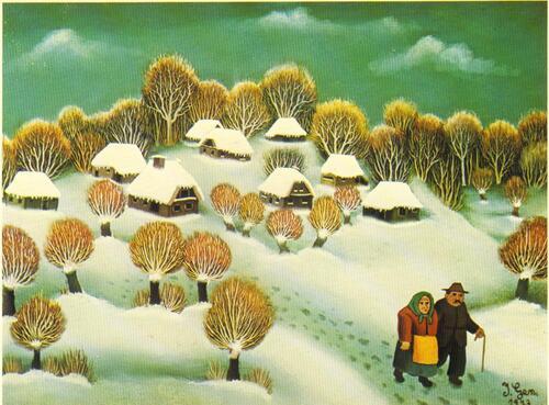 15. Cartes postales d'Ivan Generalic