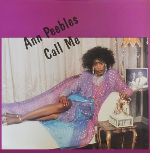 "Ann Peebles : Album "" Call Me "" Waylo Records 13009 [ US ]"