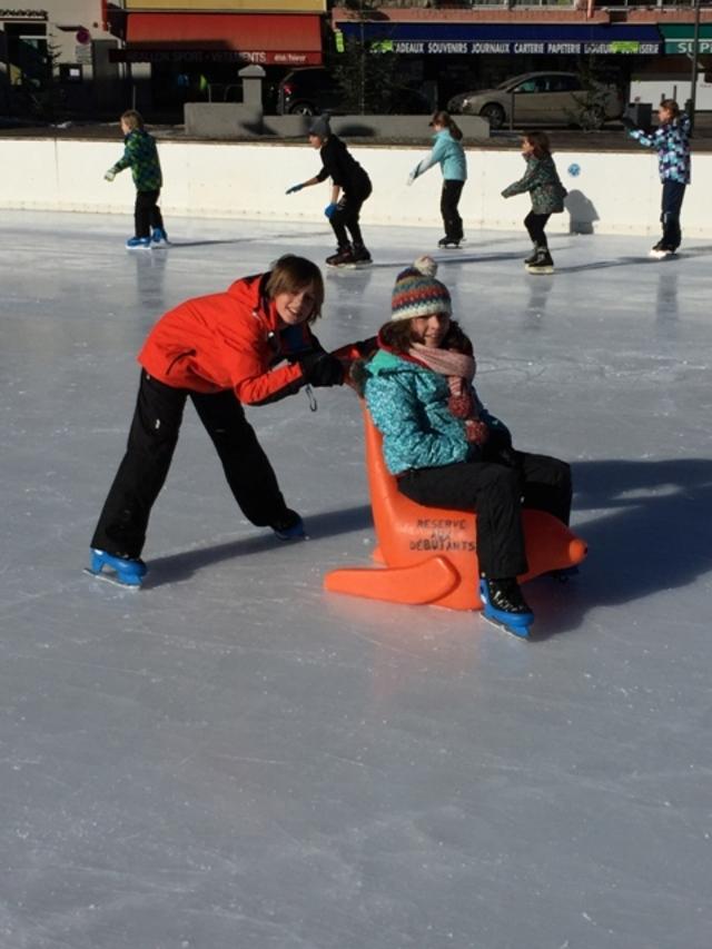 Luges, patins, essayage et compagnie