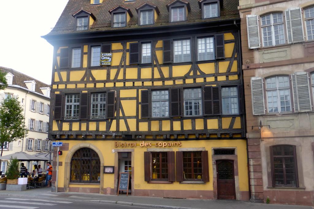 Strasbourg, toujours, nous quittons la Petite France.