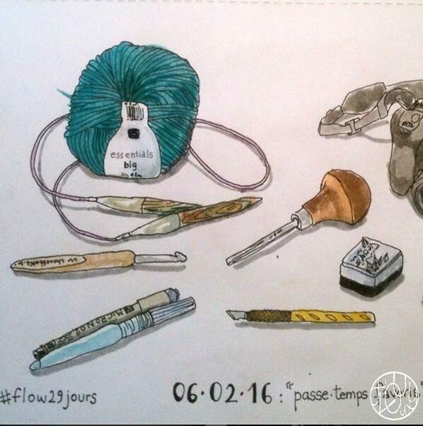 7 petits bonheurs par semaie - Février 2016