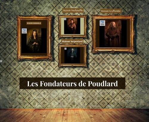 Les Fondateurs de Poudlard, galerie des Portraits