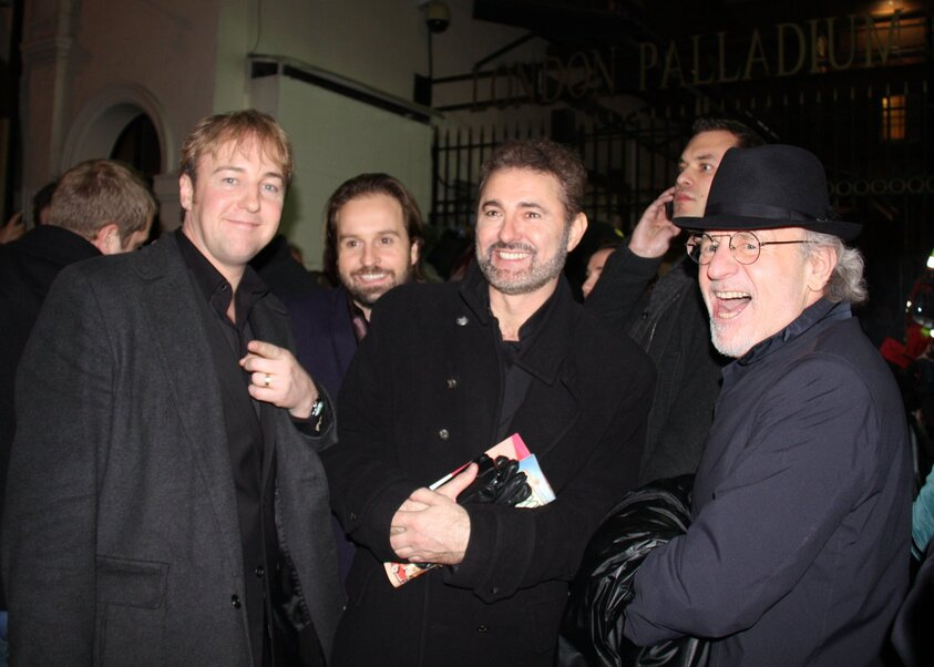 Alfie Boe, Simon Bowman, John Owen-Jones et  Colm Wilkinson 2010