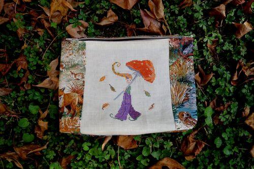 échange pochette d'automne
