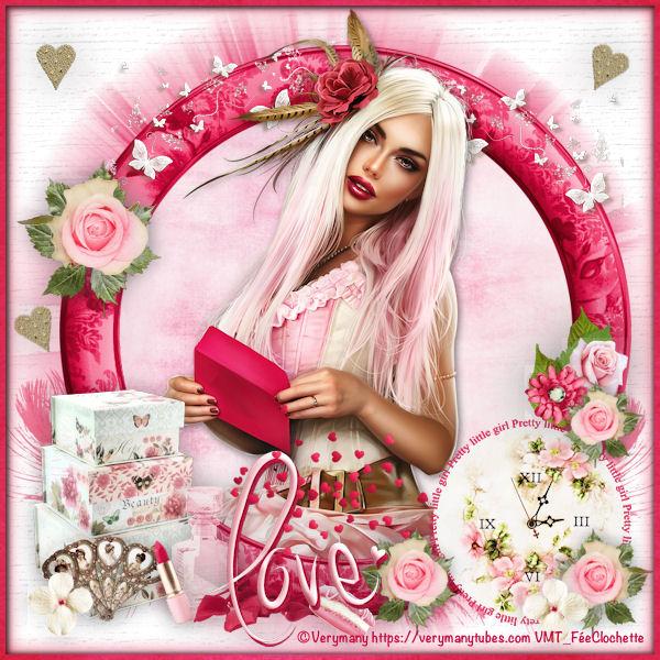 Pink love steampunk