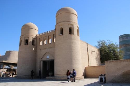 Khiva, les remparts, vues générales