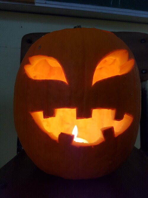 Halloween à Hamblain