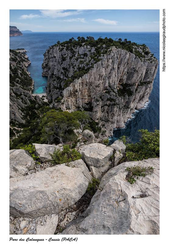 Les calanques de Cassis de Port Miou à En Vau (PACA)