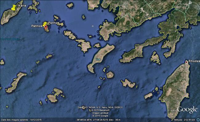 Patmos : vues de Skala