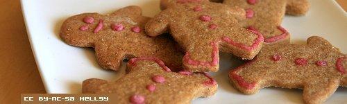 Petits bonhommes de pain d'épice - CC by-nc-sa hellgy