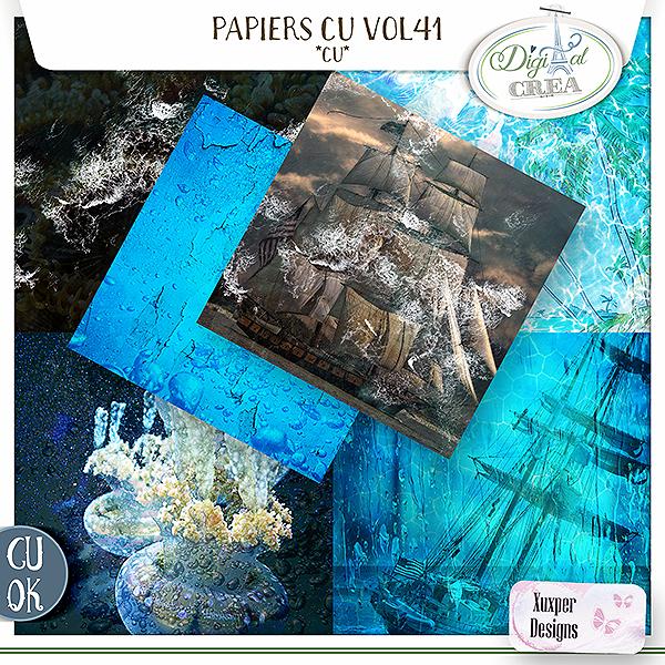 Papiers CU Vol 41 de Xuxper Designs