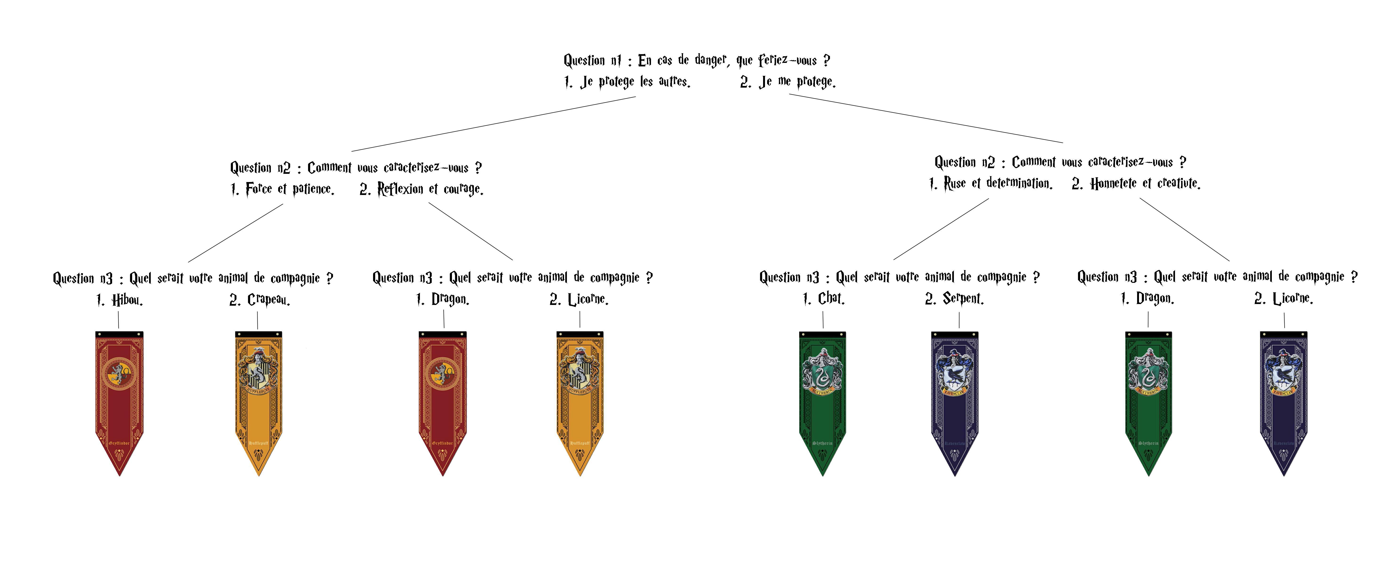 Test de Maison Harry Potter - Projets Arts numériques
