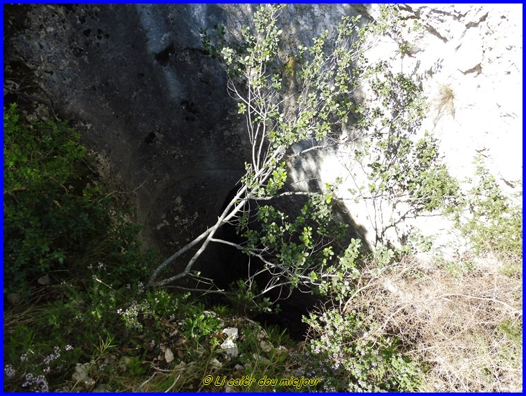 Luberon, le vallon de sanguinette