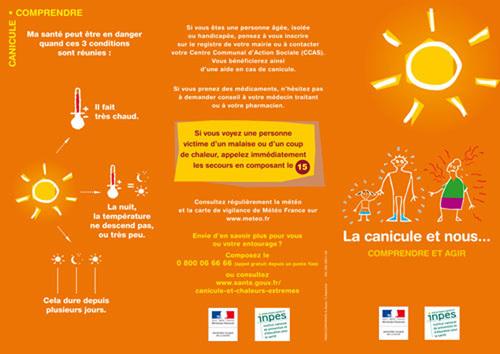 Plan Canicule : en raison des fortes chaleurs, activation du numéro vert