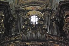 ABBAYE DE MELK -  EGLISE ABBATIALE - orgue