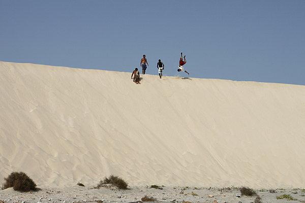 autochtones sur la dune