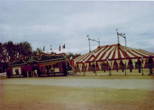 le cirque Jean RIchard pour la dernière fois à Bordeaux en janvier 1982