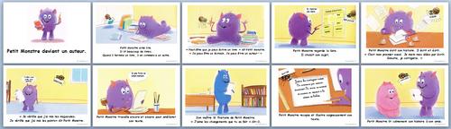 Pourquoi écrit-on?petit monstre devient un auteur, clarté cognitive Cp, ce1