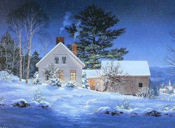 Peinture de : Fred Swan