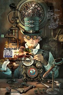 -- Le monde des Steampunks -- 2