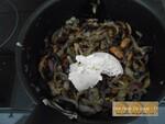 Tarte crémeuse aux champignons de Paris