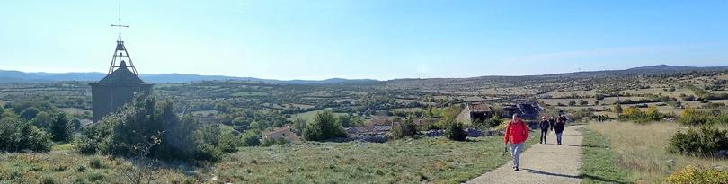 De St Michel d'Alajou au Roc Midigou.