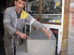 423  Dakhla Réparation réservoir d'eau soudure refaite