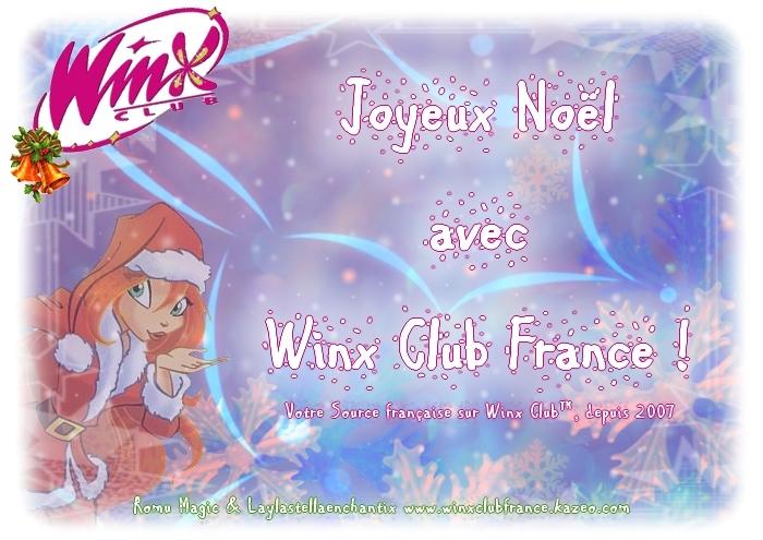 Joyeux Noël avec Winx Club France !