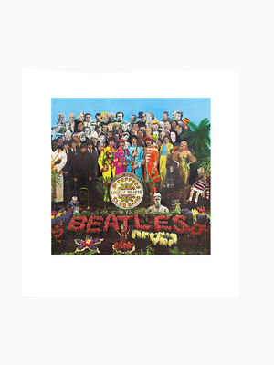 sgt. pepper's lonely hearts club band de the beatles (1967)