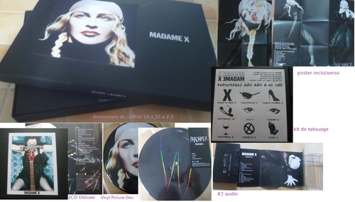 MADAME X coffret collector
