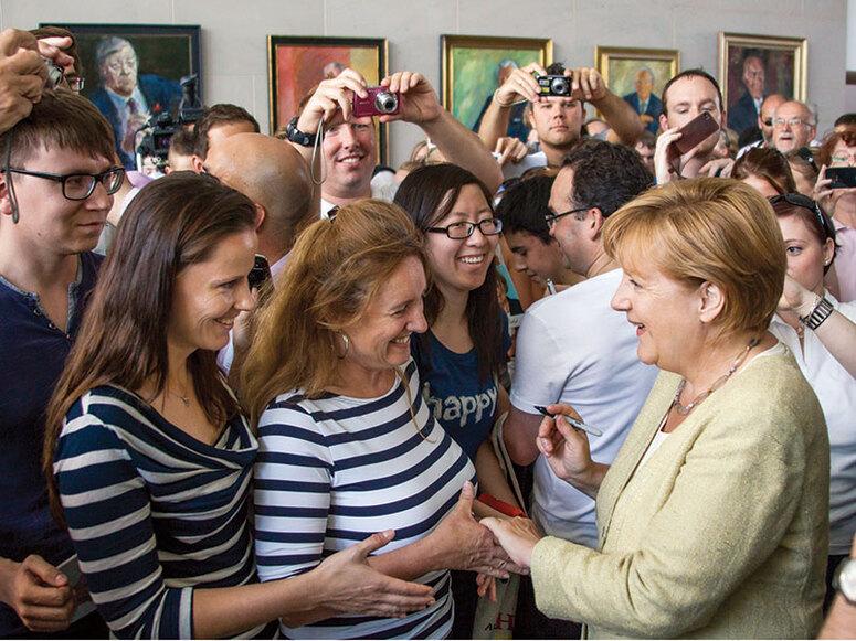 Société:   Le mystère Angela Merkel