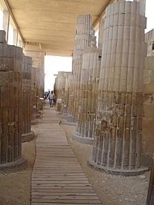 Saqqarah - l'entrée