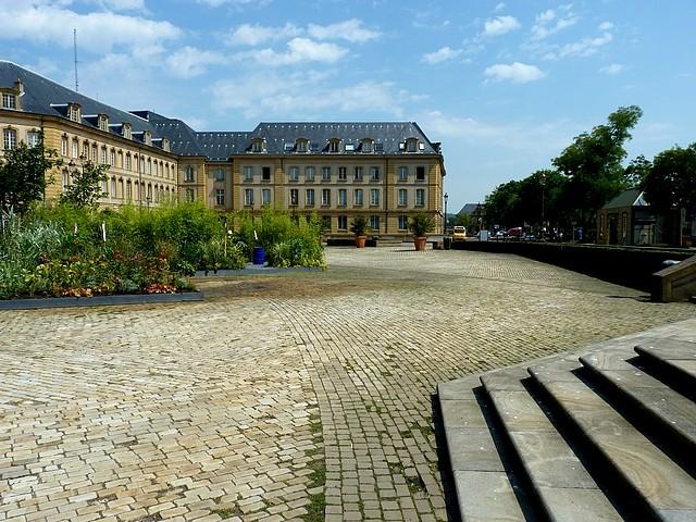Metz un jardin en chantier 7 Marc de Metz 31 07 2012