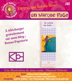 PAPETERIE BEBEUL : MARQUE PAGE