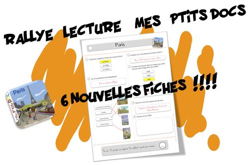 "Rallye lecture ""Mes p'tits docs"""