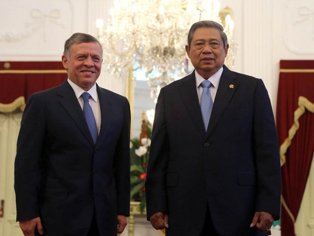 Le roi et le président