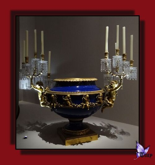 """Baccarat - exposition """"La légende du cristal"""" -1e partie"""