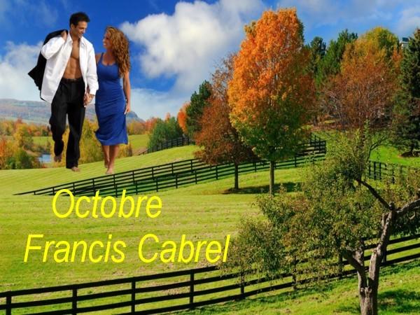Octobre    Francis Cabrel