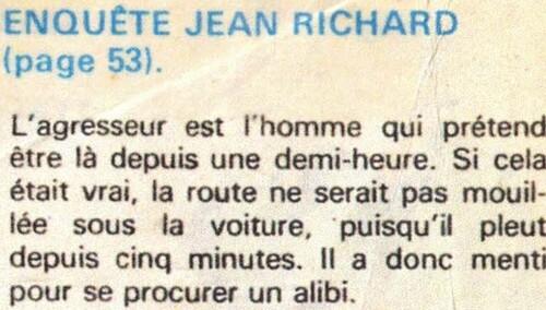 enquête de Jean Richard n° 50