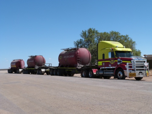 Road trains...