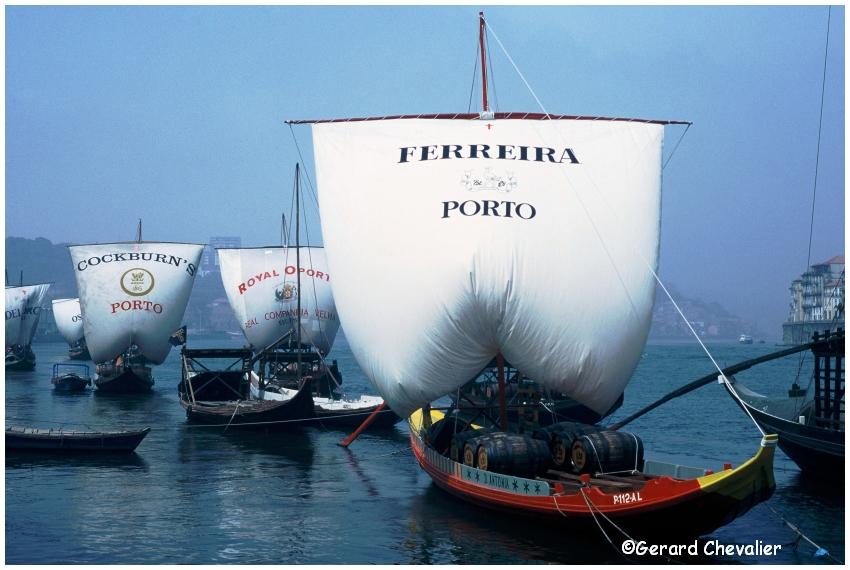 Vila Nova de Gaia - Barcos Rabelos.