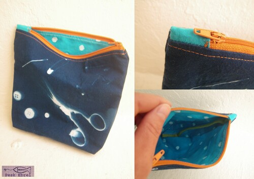 Pochette cyanotype